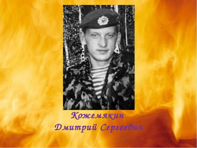 Кожемякин Дмитрий Сергеевич