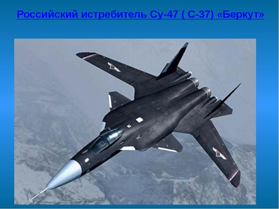 Российский истребитель Су-47 ( С-37) «Беркут»
