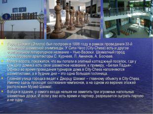 Город Шахмат (Элиста) был построен в 1998 году в рамках проведения 33-й Всеми