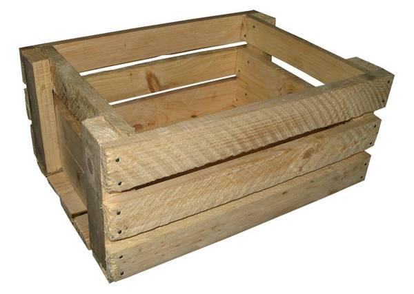 Как сделать ящик из досок