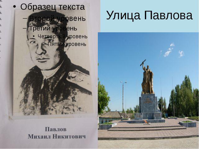 Улица Павлова