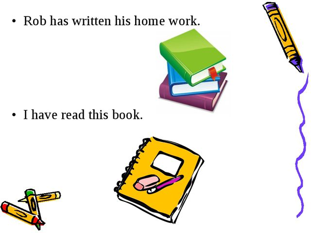Rob has written his home work. I have read this book.