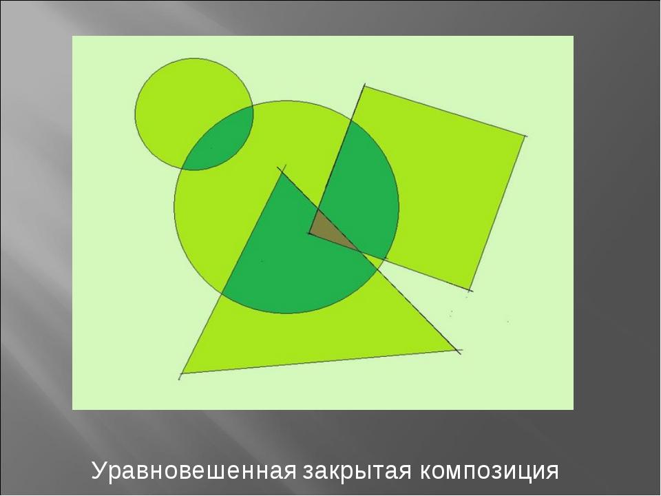 Уравновешенная закрытая композиция