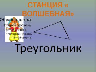 Станция «ВОЛШЕБНАЯ» Станция «РАЗМИНОЧНАЯ» Станция «ПОЧИТАЙ-КА» Станция «РЕБУ