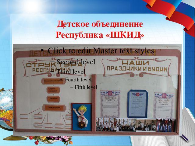 Детское объединение Республика «ШКИД»