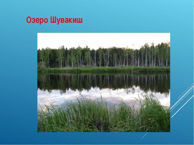 Озеро Шувакиш