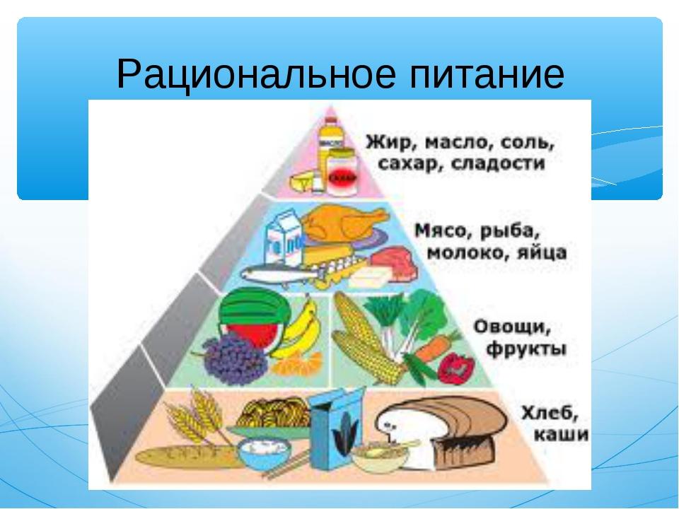 Рациональное питание