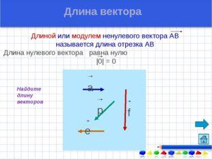 Назовите коллинеарные векторы сонаправленные векторы противоположно направле