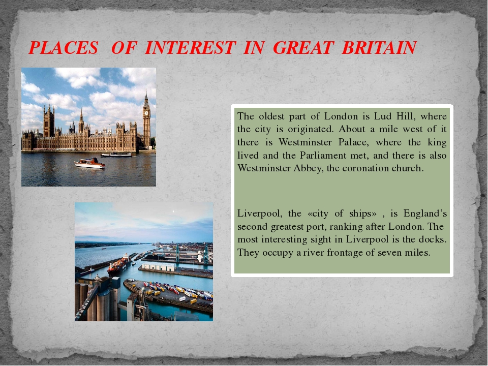 The oldest part of London is Lud Hill, where the city is originated. About a...