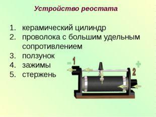 керамический цилиндр проволока с большим удельным сопротивлением ползунок заж