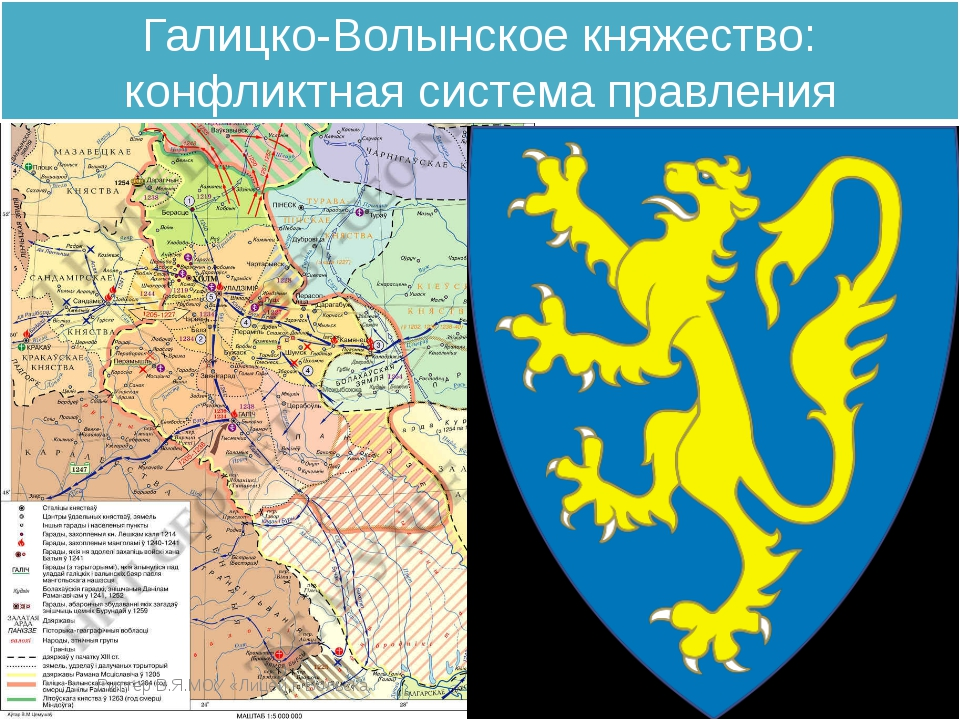 Галицко-Волынское княжество: конфликтная система правления Риттер В.Я.МОУ «Ли...