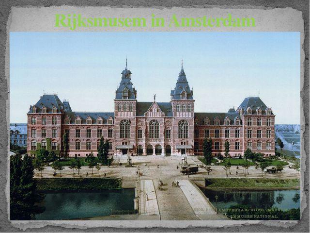 Rijksmusem in Amsterdam