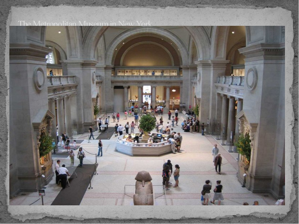 The Metropolitan Museum in New York