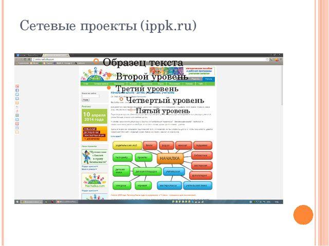 Сетевые проекты (ippk.ru)