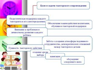 Цели и задачи тьюторского сопровождения Педагогическая поддержка каждого тьют