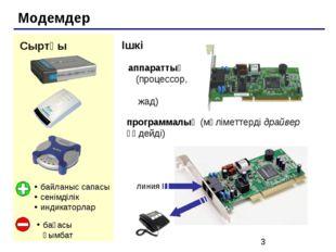 Модемдер Сыртқы байланыс сапасы сенімділік индикаторлар бағасы қымбат Ішкі ап