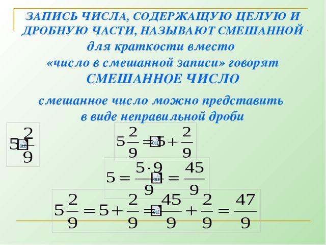 № 1092(а) Запишите в виде неправильной дроби числа: = = = =