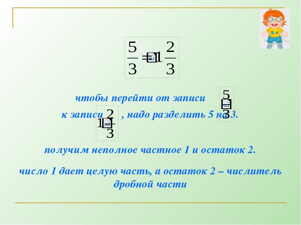 № 1086 Выделите целую часть из дробей: = = = =