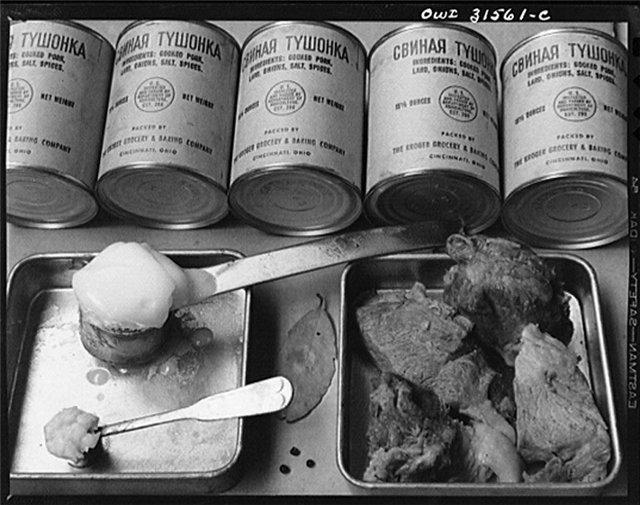 Как война влияла на кухню, а кухня - на войну