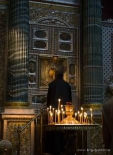 Список с Казанской иконы Божией Матери в Казаском соборе в Санкт-Петербурге