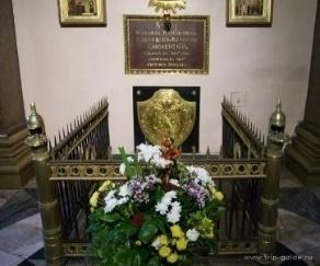 Могила Кутузова в Казанском соборе