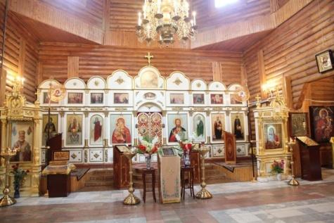 Храм Святителя Николая г. Биробиджана.