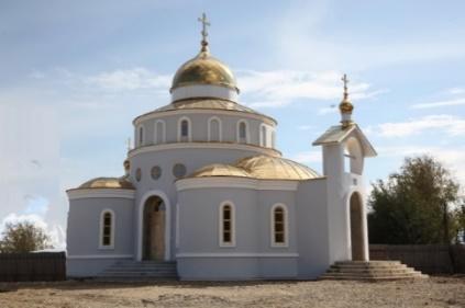 Храм во имя св. мучениц Веры, Надежды, Любови и матери их Софии с. Валдгейм Биробиджанского района