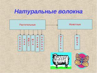 Натуральные волокна Растительные Х Л О П О К Л Е Н Д Ж У Т Ю Т А К Е Н А Ф П