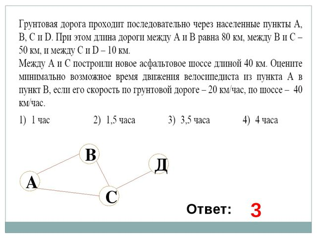 Ответ: 3