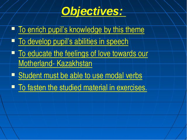 Objectives: To enrich pupil's knowledge by this theme To develop pupil's abil...