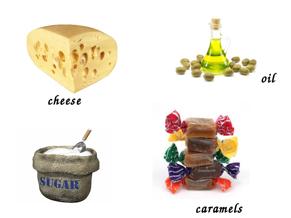 cheese caramels oil