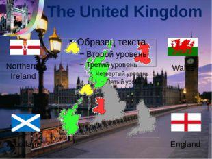 The United Kingdom Northern Ireland Scotland Wales England