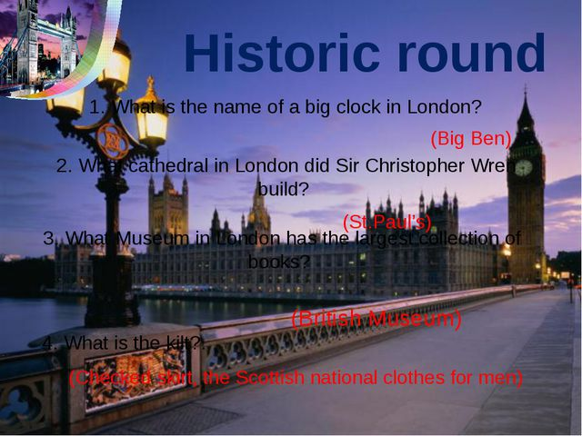 Historic round 3. What Museum in London has the largest collection of books?...
