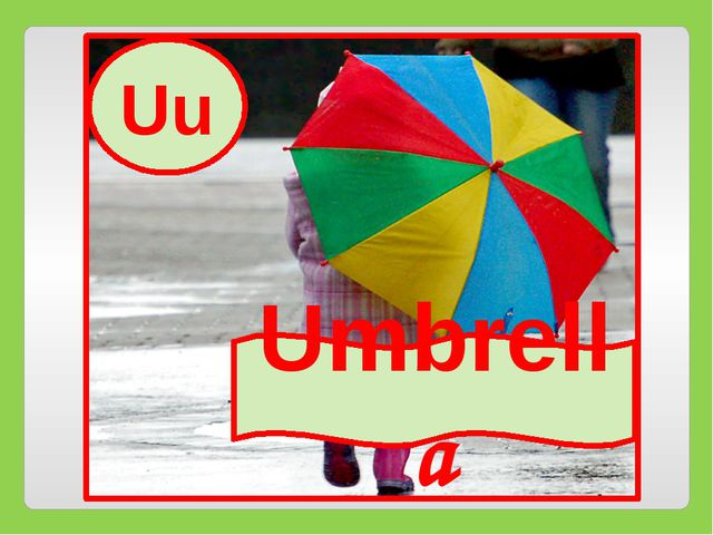 Uu Umbrella Uu