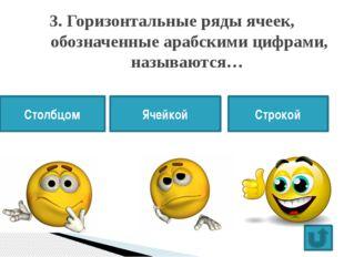 """4. Ввод формул в ячейки электронной таблицы всегда начинается со знака… > """""""