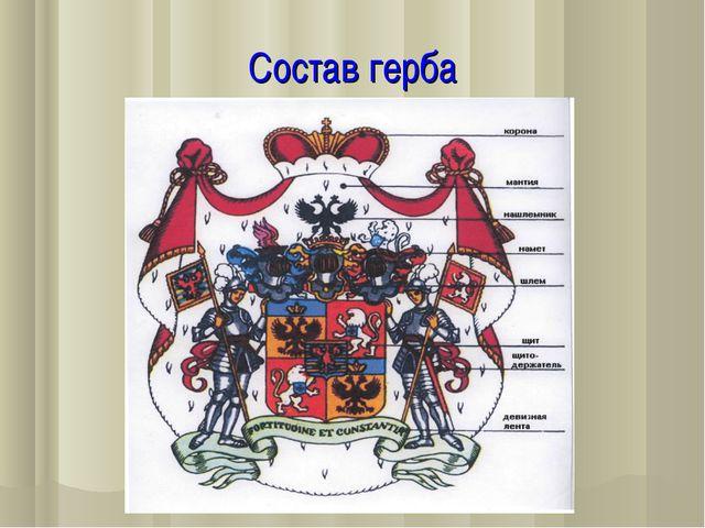 Состав герба