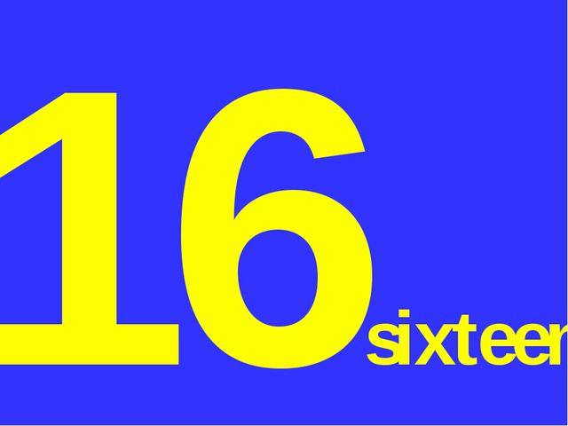 16sixteen