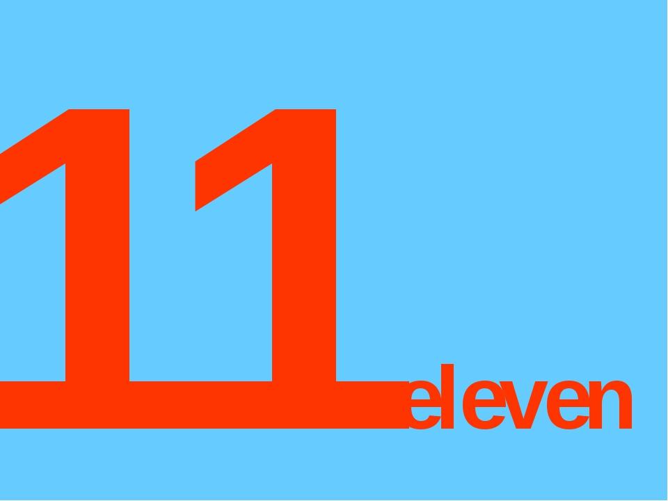 11eleven