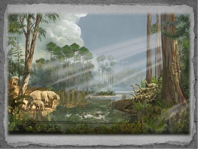 Мезозойская эра — самый тёплый период в фанерозойской истории Земли. Он практ...
