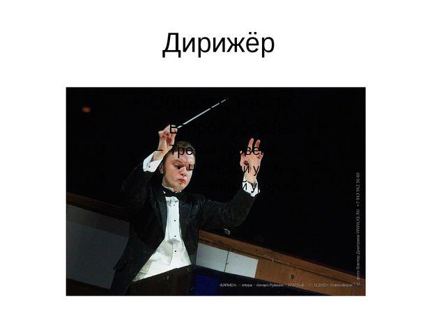 Дирижёр