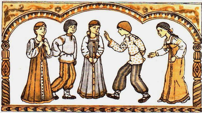 картинки русские народные игры в старину материалы величина