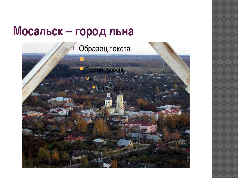 Мосальск – город льна