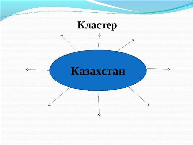 Казахстан Кластер