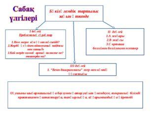 Бүкіләлемдік тартылыс заңын өткенде І-деңгей Проблемалық сұрақтар Неге жерге