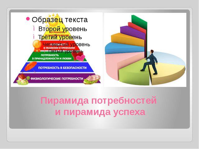 Пирамида потребностей и пирамида успеха