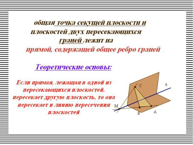 Перечень используемых терминов.