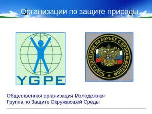 Организации по защите природы Общественная организация Молодежная Группа по З