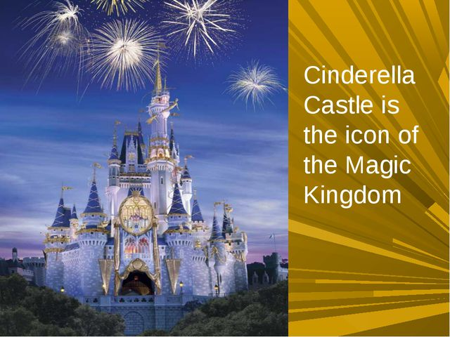 Cinderella Castle is the icon of the Magic Kingdom