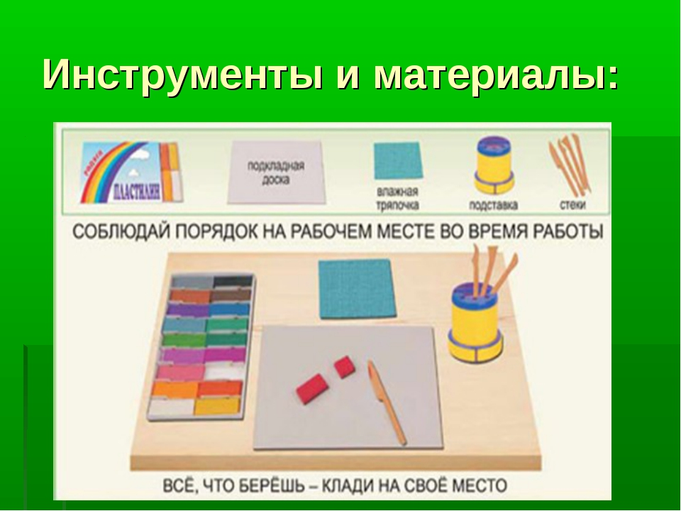 Инструменты и материалы: