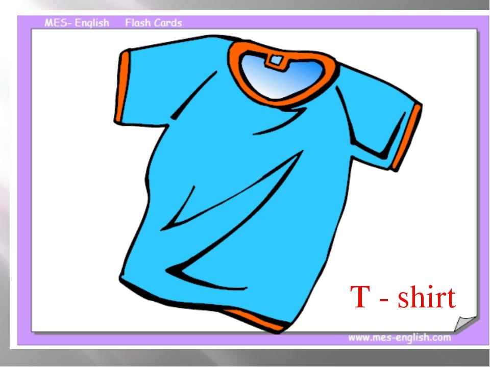 T-shirt T - shirt